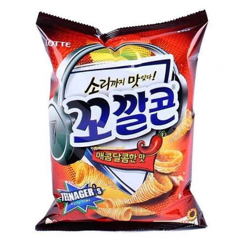 韓國 Lotte 香辣栗米筒 72g