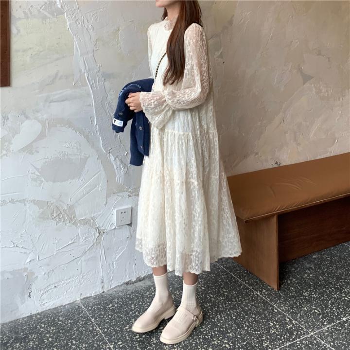 1015mk-코벤 롱 원피스♡韓國女裝連身裙