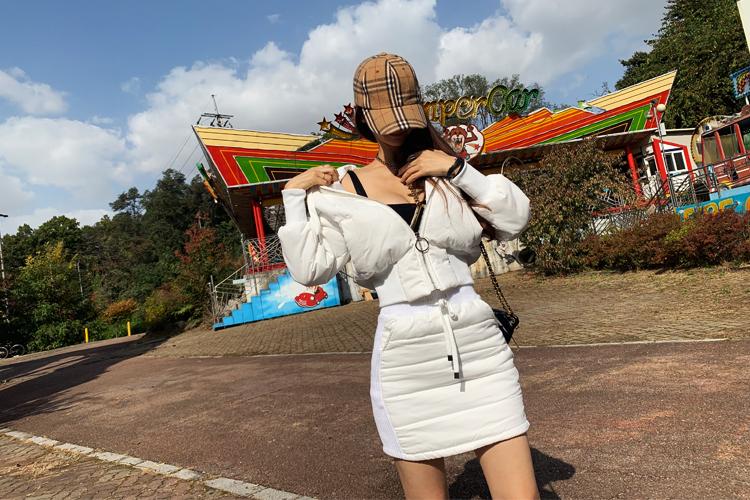 iampretty-[[4118]추위끄덕없는 패딩스커트]♡韓國女裝裙