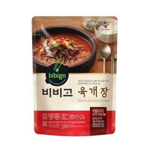 Bibigo 비비고 香辣牛肉湯 500g