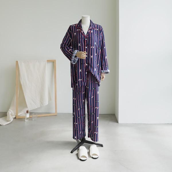 mariangplus-[P] 플린프 파자마 세트 P_T8931♡韓國女裝套裝