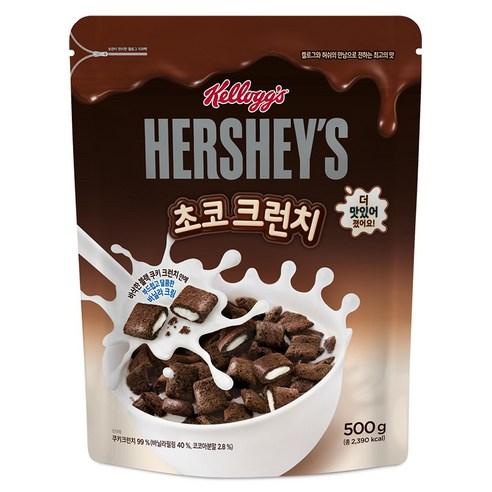 켈로그 허쉬 Hershey's 朱古力牛奶夾心穀物早餐 500g