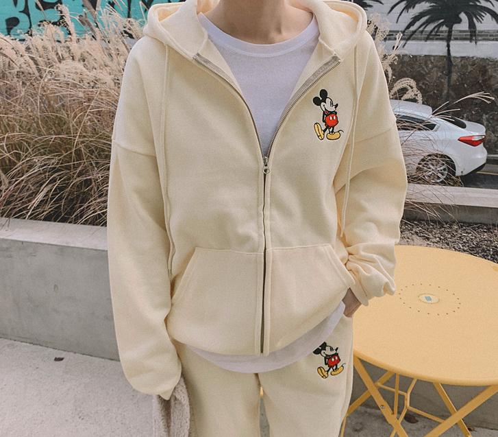 lylon-미키자수기모후드집업♡韓國女裝外套