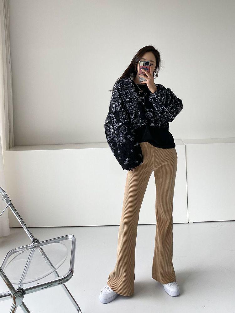 ppgirl-골덴 나팔팬츠PT G304♡韓國女裝褲