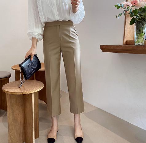 leelin-[모데라토 시즌 팬츠[size:S,M,L]]♡韓國女裝褲