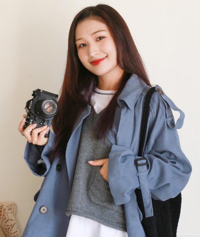 kikiko-레스티트렌치코트♡韓國女裝外套