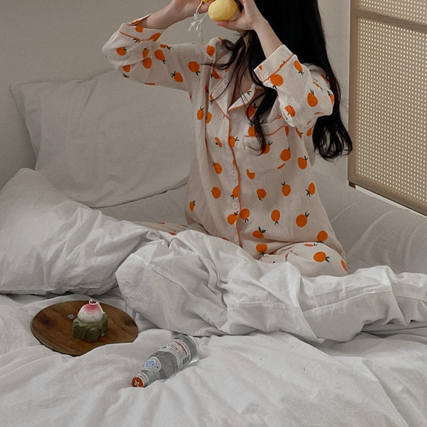 realcoco-[20%할인❣️]♥NEW♥만다린 요루 잠옷세트 (파자마/홈웨어/집콕룩)♡韓國女裝睡衣