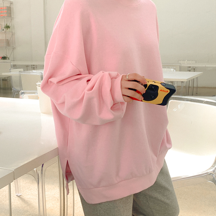 09women-[메들린 밑트임 맨투맨 52559]♡韓國女裝上衣