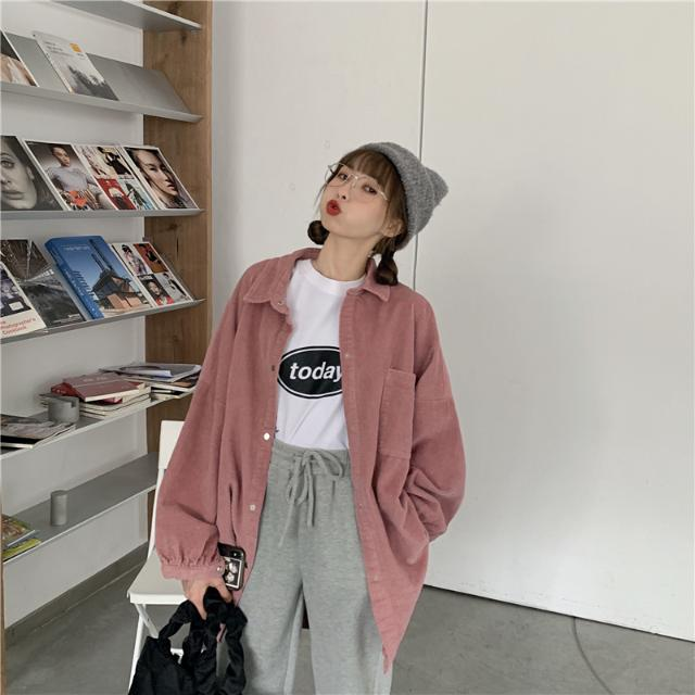 1015mk-[6컬러] 카라 퍼프소매 셔츠♡韓國女裝上衣