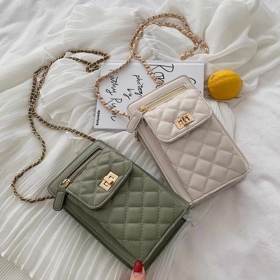 blancjo-스마트폰&여권 크로스 골드 체인 백_ib04455♡韓國女裝袋