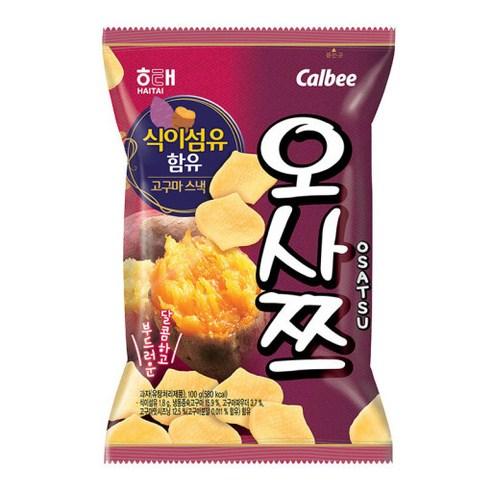 韓國海天 Calbee 甜蕃薯薯片 一包/60g