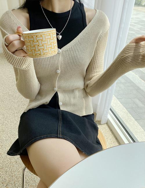 myclosetme-썸머 워머 가디건 (3color)♡韓國女裝外套
