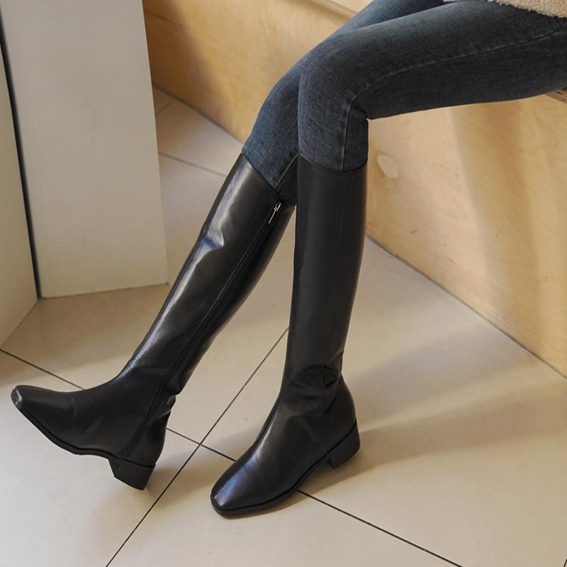 clicknfunny-[헐비트 롱부츠]♡韓國女裝鞋