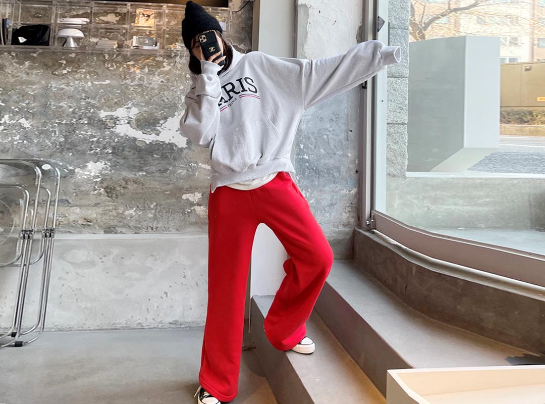 naning9-이토페 기모밴딩팬츠(B12)♡韓國女裝褲