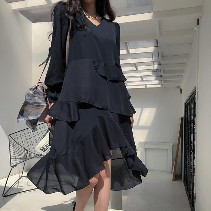 dabagirl-카메론언발원피스♡韓國女裝連身裙