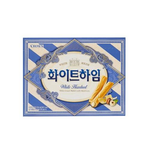 크라운 Crown 奶油夾心條 一盒 18p/284g