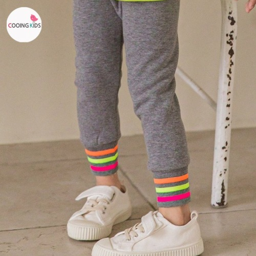 cooingkids-A무지개레깅스♡韓國童裝褲