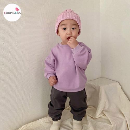 cooingkids-M봄데이맨투맨티♡韓國童裝上衣