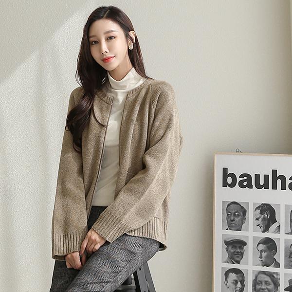 canmart-[이프니트집업 C101931]♡韓國女裝外套