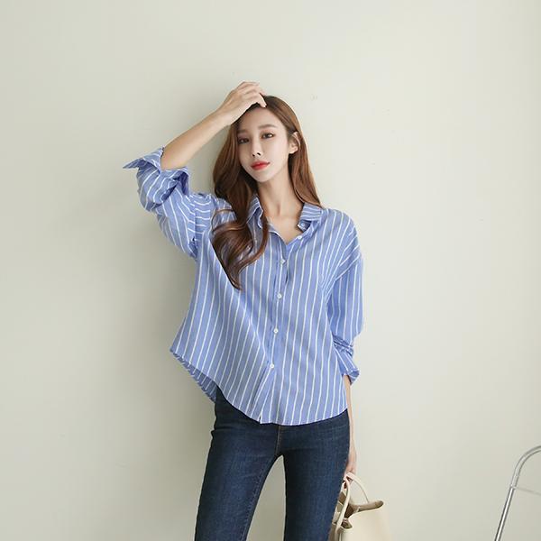 canmart-[라이크줄지셔츠 C090308]♡韓國女裝上衣