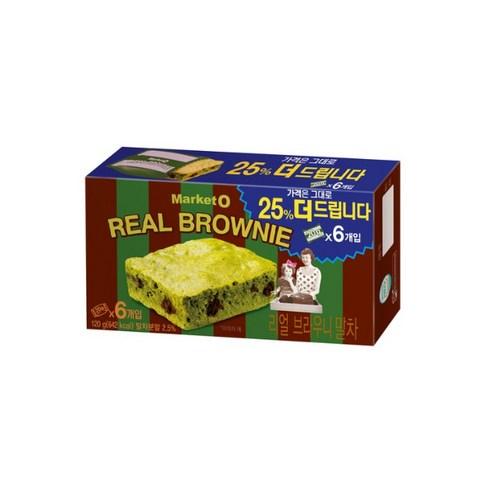 마켓오 Market O 布朗尼抹茶朱古力蛋糕 一盒 6件/ 120g