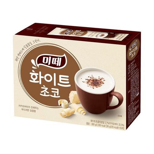 韓國 Dongsuh 熱白朱古力沖裝(10支)  300g