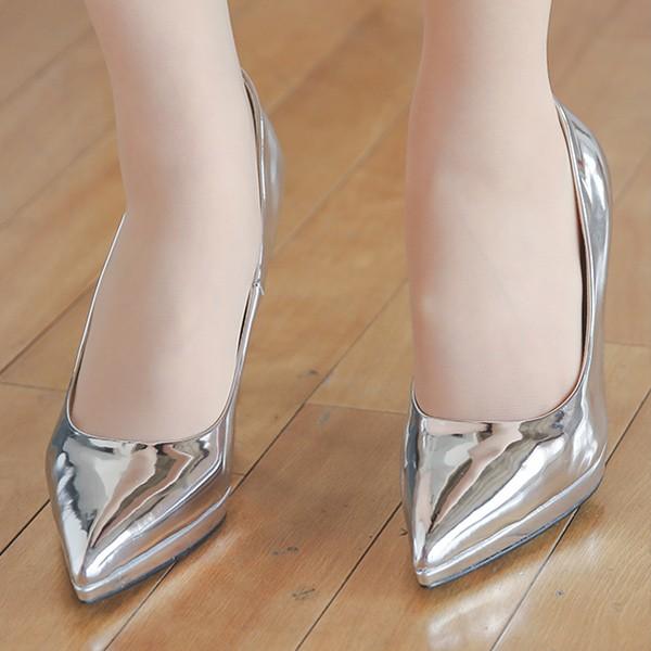 ode-[에나멜 쿠션 가보시 스틸레토힐]♡韓國女裝鞋