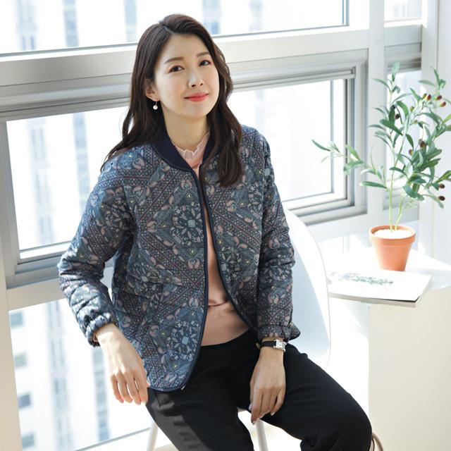 tiramisu-140페이즐나염패딩점퍼♡韓國女裝外套