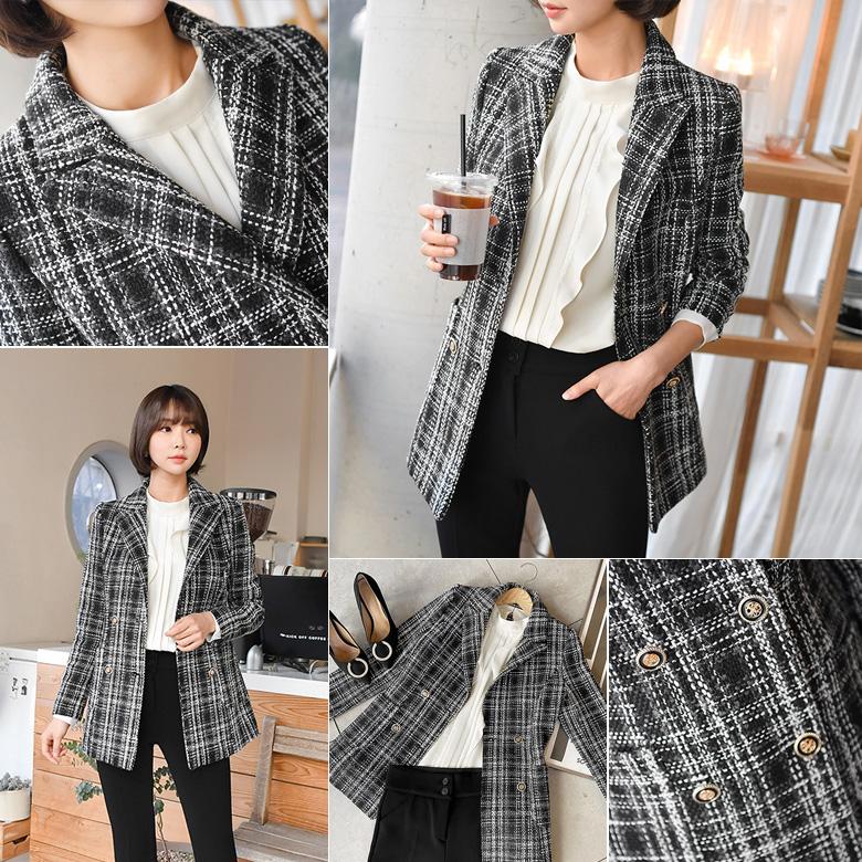 midasb-[벨론 트위드 자켓]♡韓國女裝外套