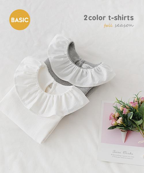 harukids-설레는프릴티[티셔츠BBZF23]♡韓國童裝上衣