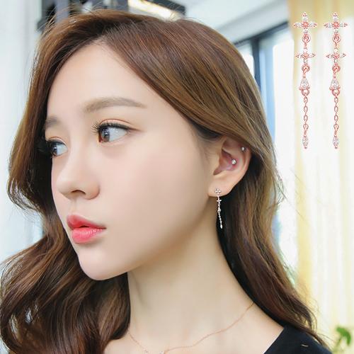 soo-soo-[귀걸이아젤 earring (16E667) [3color]]♡韓國女裝飾品