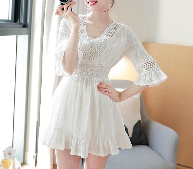 myfiona-썸머스윗*ops/m8490 - 로맨틱 러블리 피오나♡韓國女裝連身裙