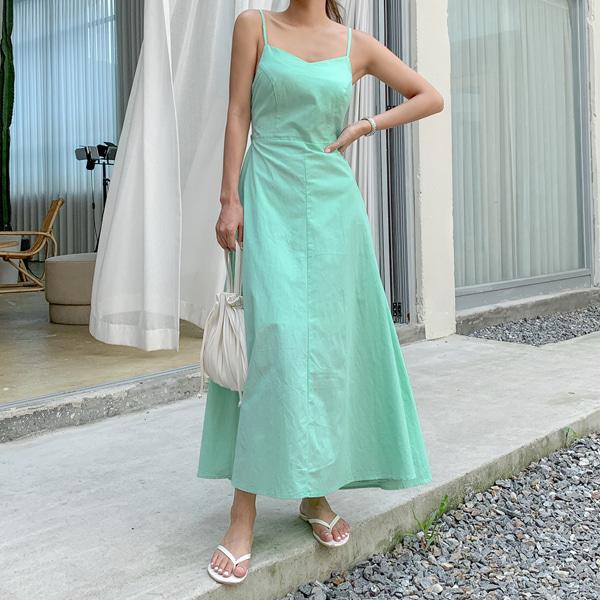planj-파파야리본롱♡韓國女裝連身裙