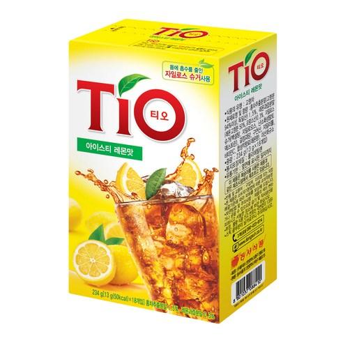韓國 TIO 即沖檸檬茶檸檬茶 (18包裝)234g