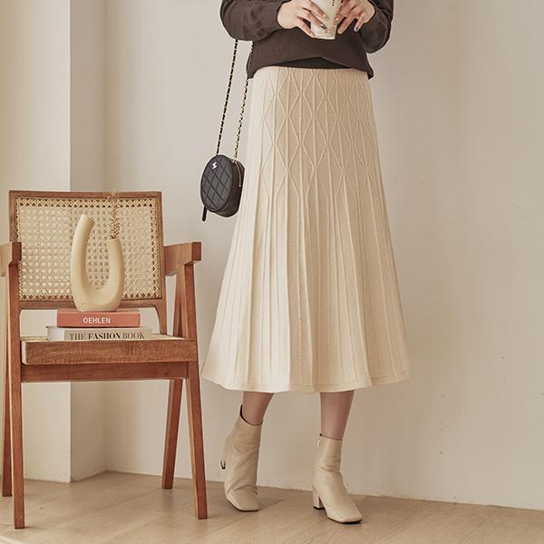canmart-[지그재그니트스커트 C101431]♡韓國女裝裙