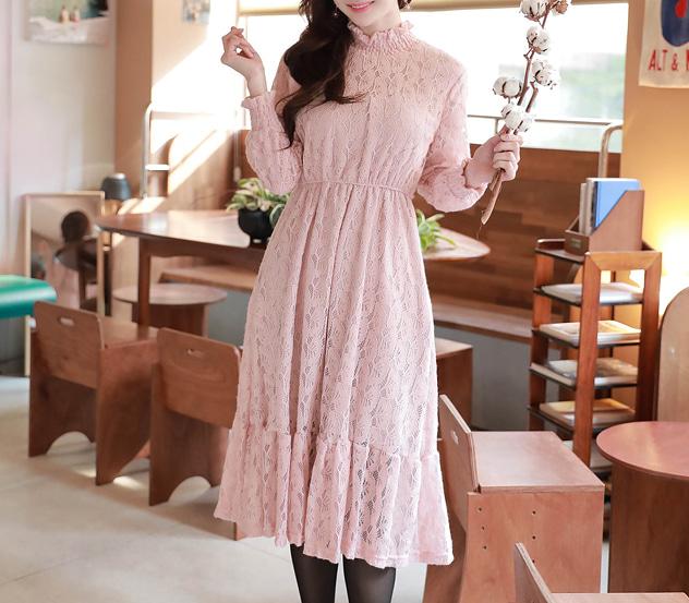 myfiona-구름플라워*ops/m7535 - 러블리 로맨틱룩 1위 쇼핑몰 피오나♡韓國女裝連身裙