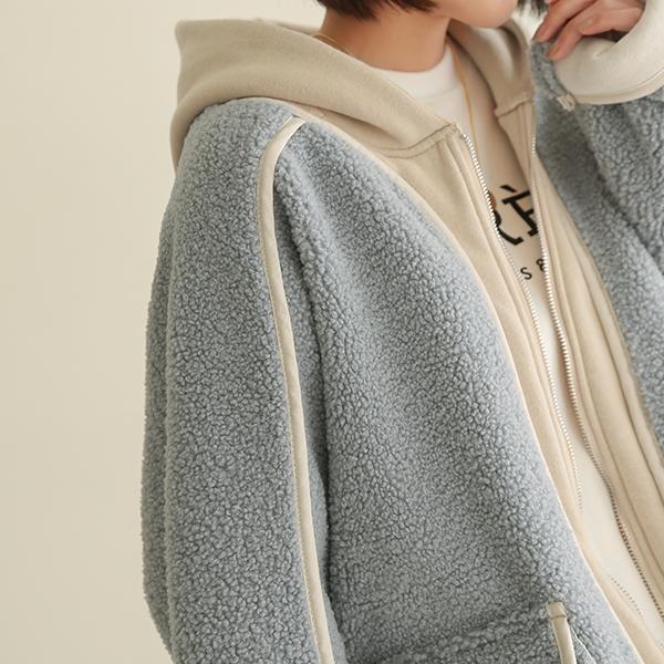 canmart-[후드양털무스탕 C121111]♡韓國女裝外套
