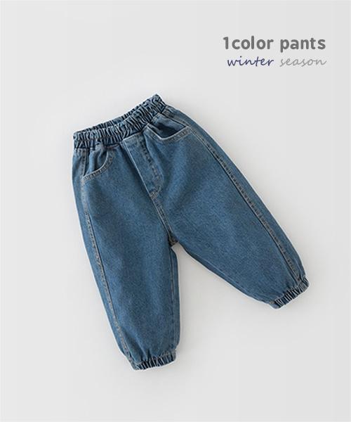 harukids-모어조거데님팬츠[팬츠BCCB3]♡韓國童裝褲
