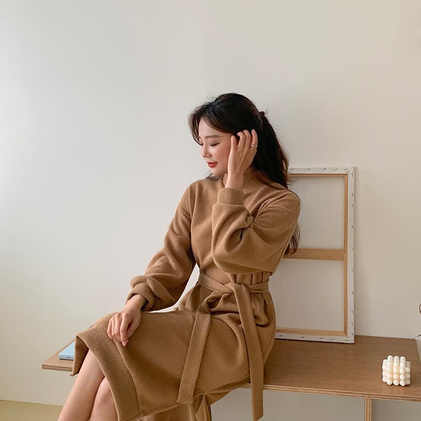 envylook-어번폴라롱원피스♡韓國女裝連身裙