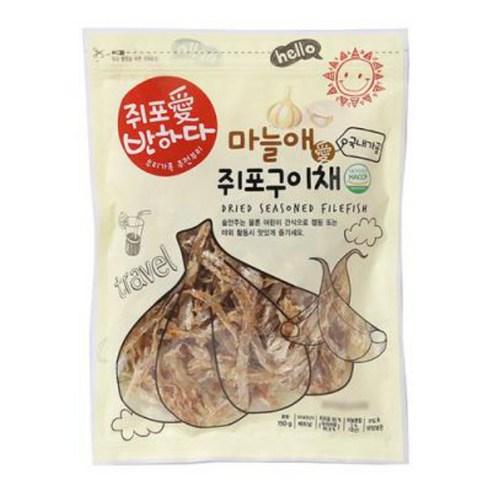 韓國 愛魚香蒜味河豚魚乾 40g
