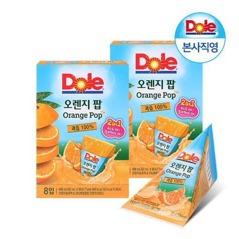 韓國 Dole IcePop 橙汁果汁冰冰 8個裝/496g