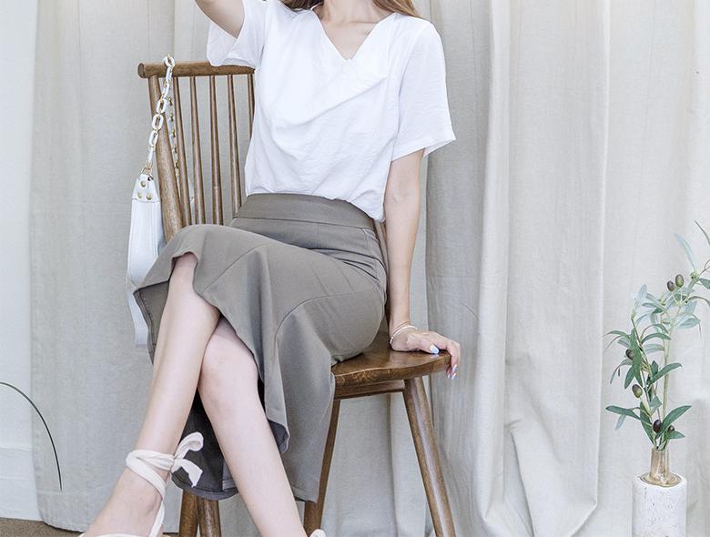eranzi-[쉐엘 머메이드 미디 스커트]♡韓國女裝裙