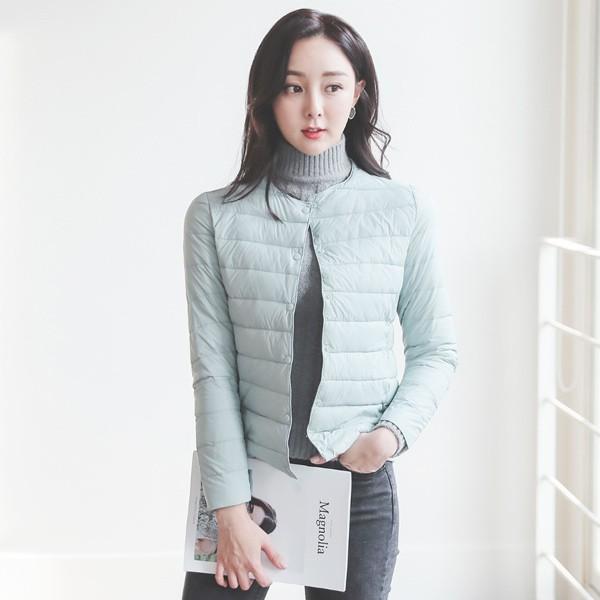 ode-[덕다운 슬림라인 경량패딩]♡韓國女裝外套