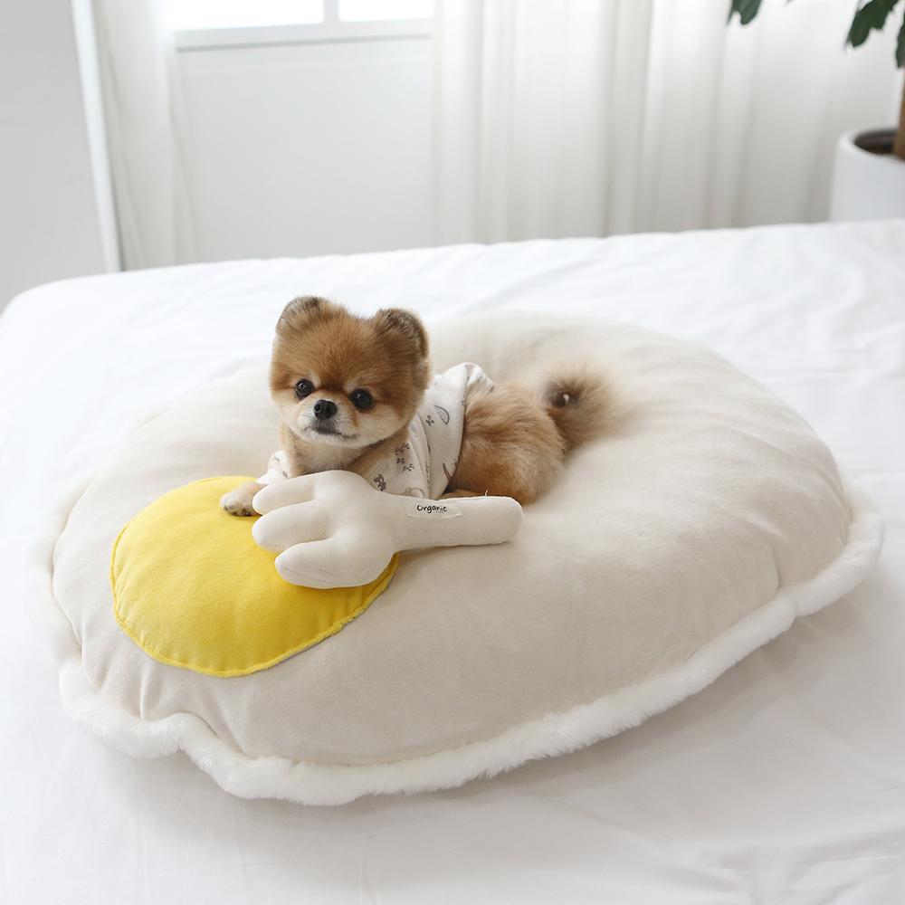 itsdog-[오가닉 계란후라이 방석]♡寵物生活用品