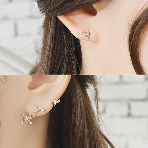 soo-soo-[귀걸이마도니카 (16E890) [2Color]]♡韓國女裝飾品