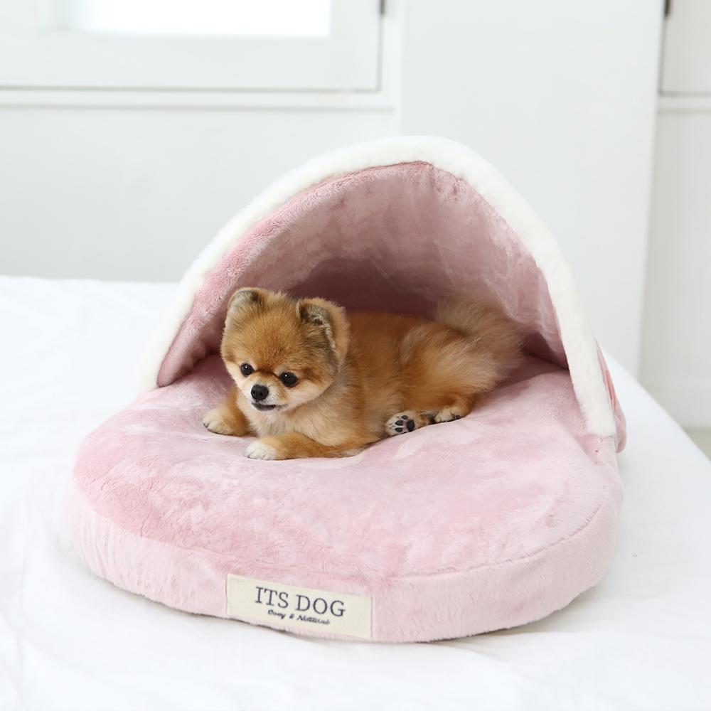 itsdog-[이츠독 슬리퍼 하우스 (핑크)]♡寵物生活用品