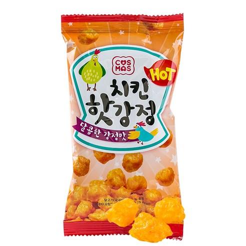 COS MOS 韓國香辣脆雞粒 一包/37g