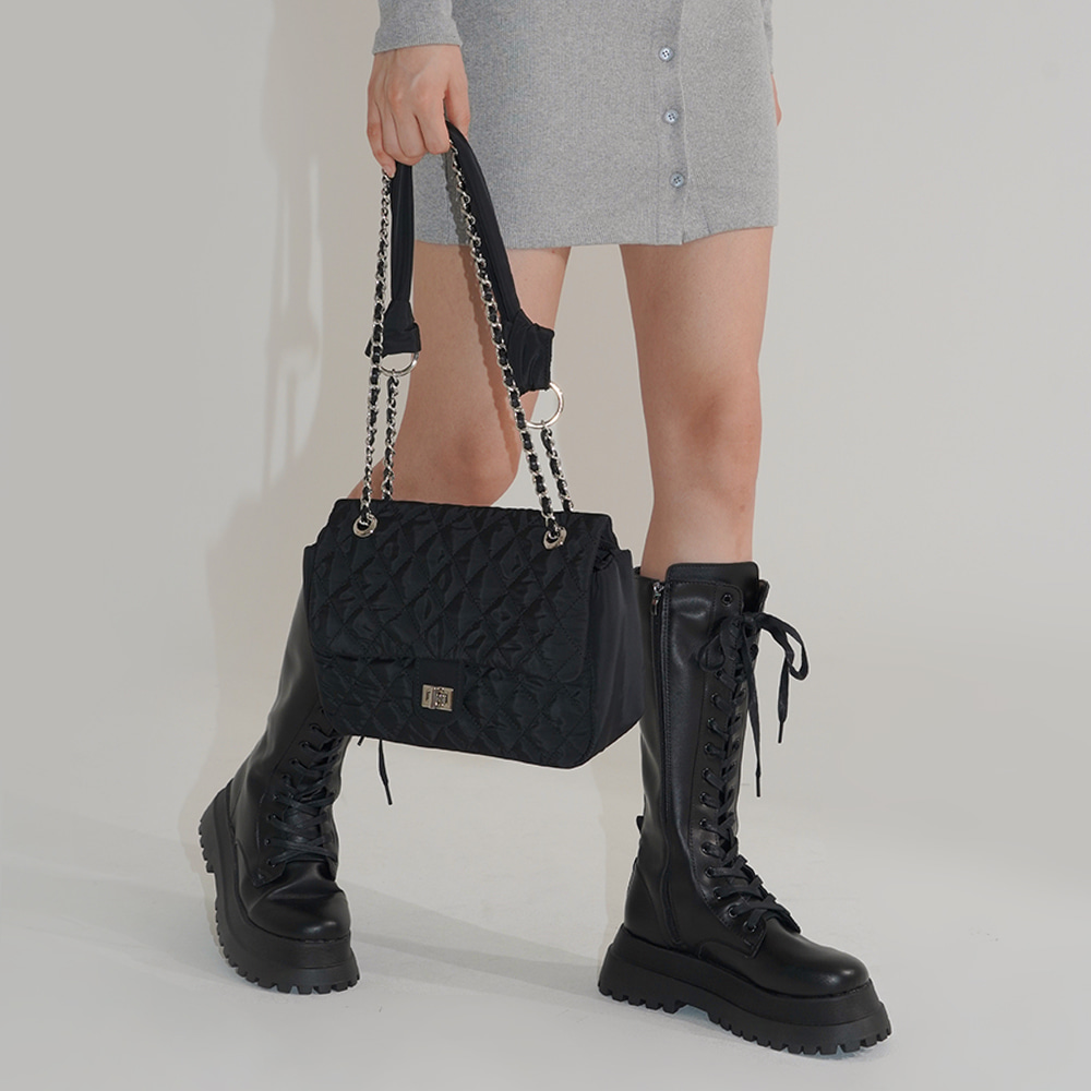 blackup-버넨또 퀼팅 숄더백♡韓國女裝袋