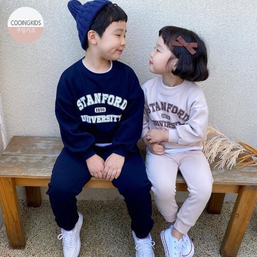 cooingkids-D스탠포드상하세트♡韓國童裝套裝