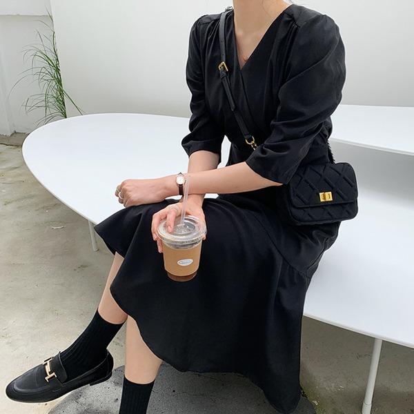 66girls-[LL] 블랙머메이드OPS♡韓國女裝連身裙